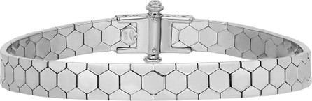 Alberto Milani Polygon Bangle Bracelet in 18K White Gold