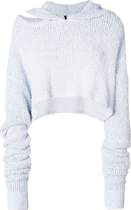 Ben Taverniti Unravel Project Cropped hooded sweater