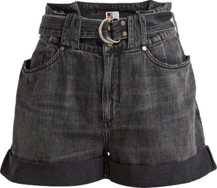 Jean Atelier Cinch denim shorts
