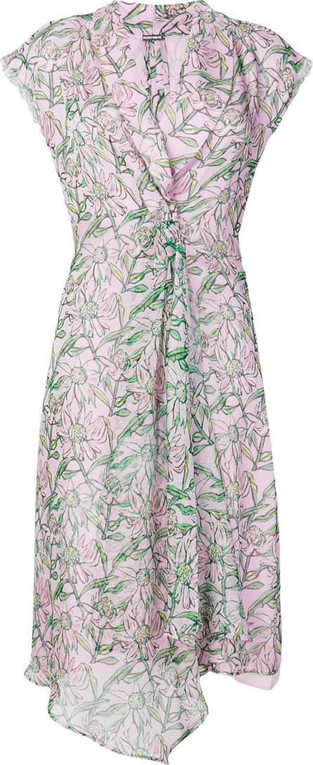 DODO BAR OR Floral print wrap style dress