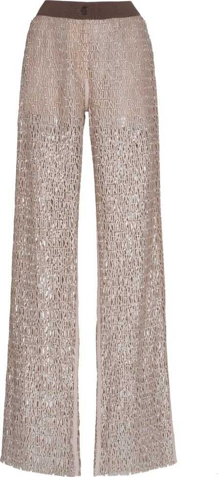 Akris Embroidered Trousers