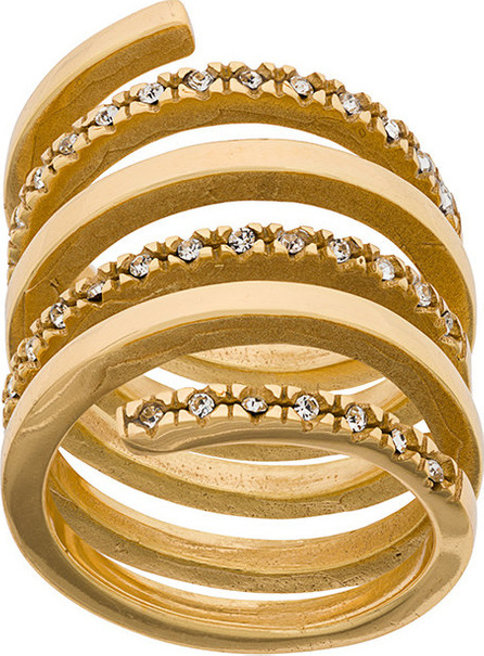 Federica Tosi Twirl spiral ring