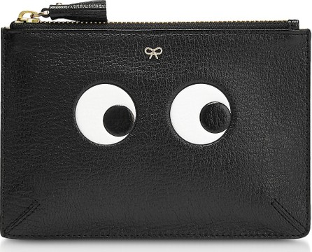 Anya Hindmarch Black Leather Small Loose Pocket