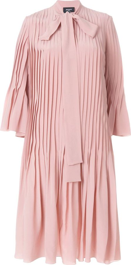 ROCHAS pleated shirt dress