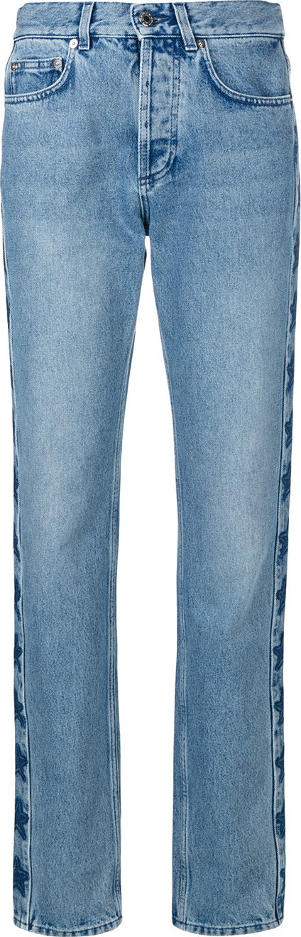 Givenchy Slouchy star print jeans