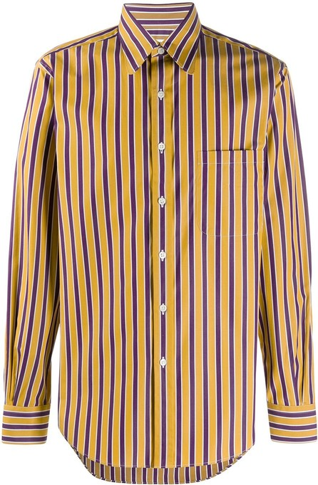 Cobra S.C. Stripe print shirt