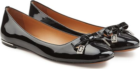 MARC JACOBS Sophie Patent Leather Ballerina Flats