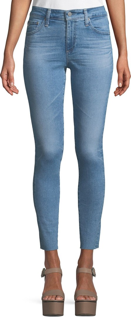 AG Jeans The Farrah High-Rise Skinny Ankle Jeans