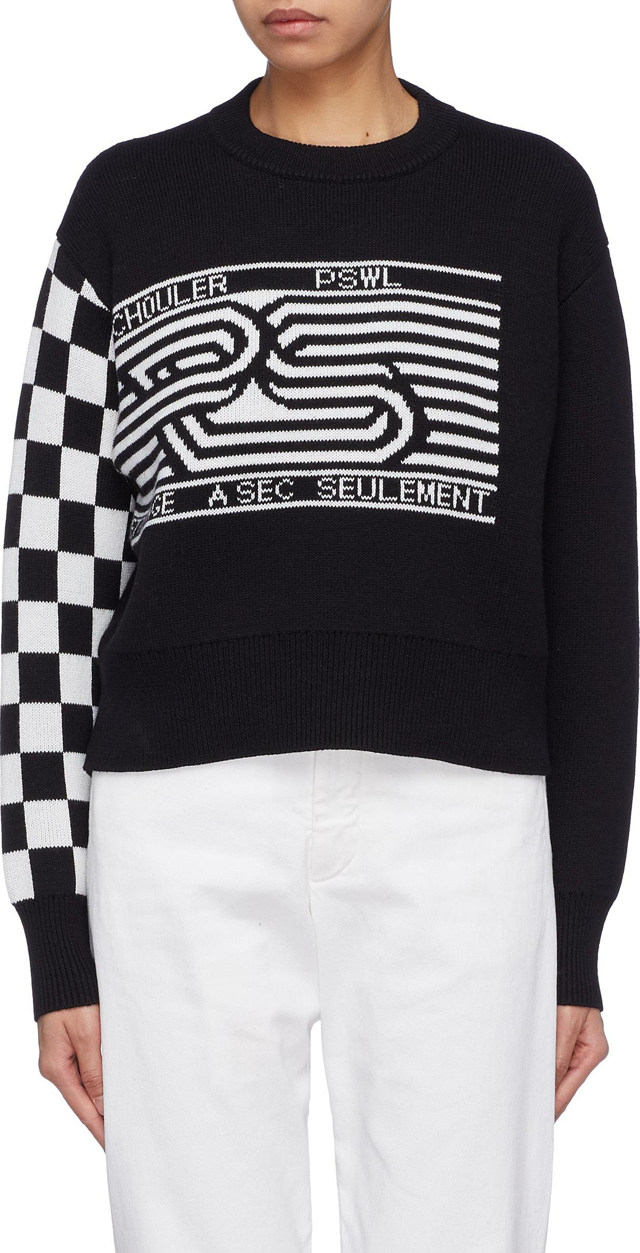 78aeec18042 proenza-schouler-pswl-checkerboard-sleeve-graphic-jacquard-cropped-sweater.jpg