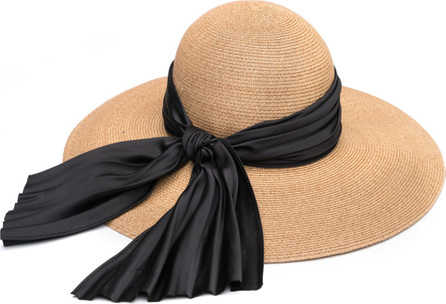 Eugenia Kim Honey Floppy Sun Hat with Satin Band