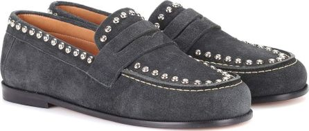 Isabel Marant Exclusive to mytheresa.com – Fenzay embellished suede loafers