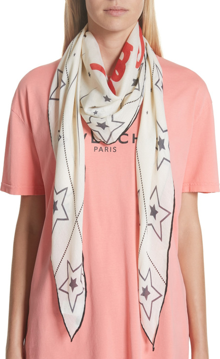 Givenchy Creatures Diamond Scarf