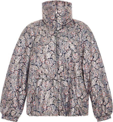 Isabel Marant Calvin Paisley Puffer Jacket