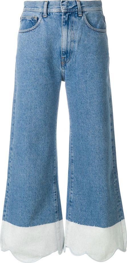 Ssheena contrast hem jeans