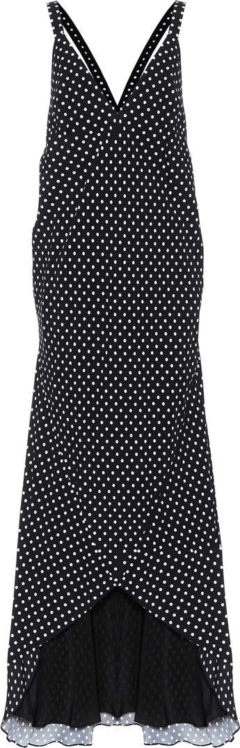 Haider Ackermann Polka-dot maxi dress