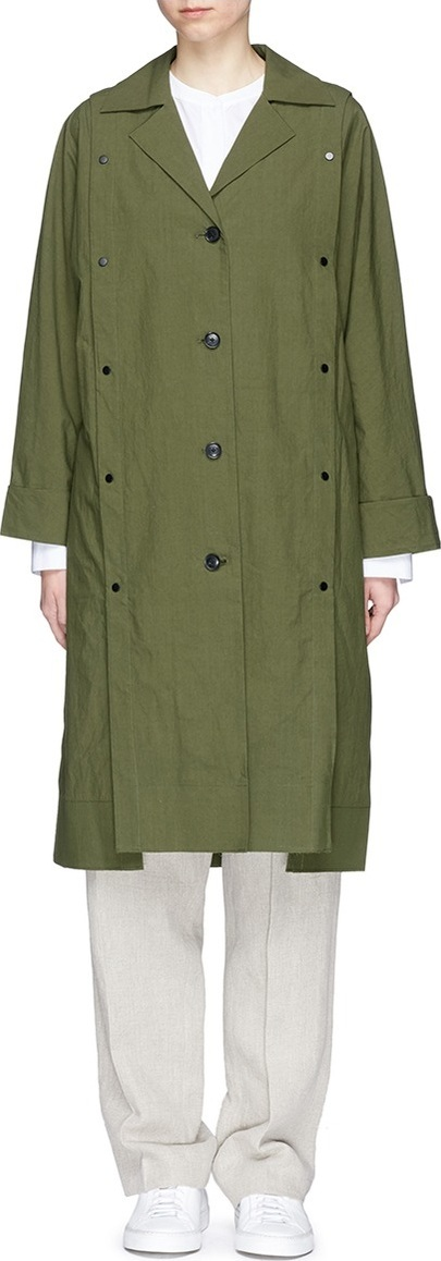 FFIXXED STUDIOS Detachable panel cotton coat