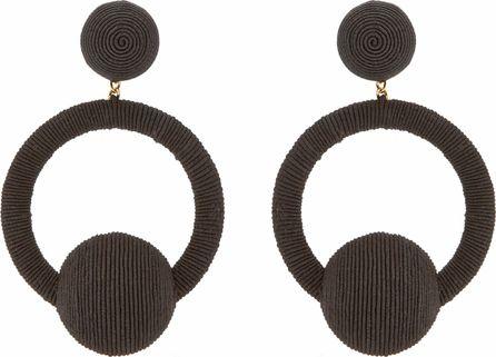 Rebecca de Ravenel Christy hoop-drop earrings