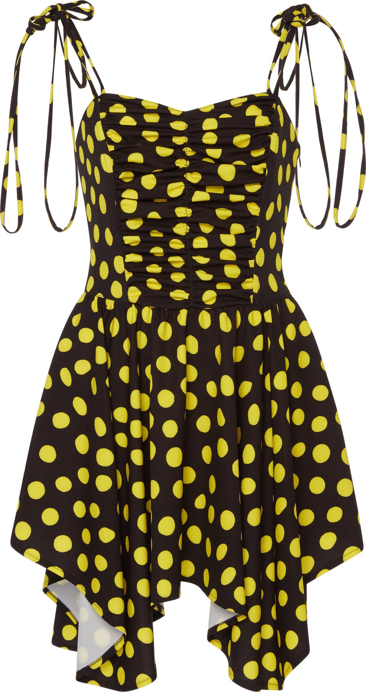 Attico - Cady Polka Dot Dress