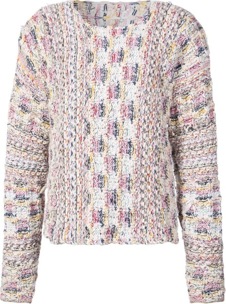 Adam Lippes Boat Neck Tweed Sweater
