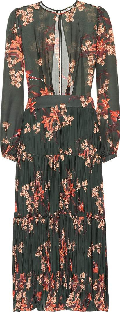 Johanna Ortiz Counter Culture floral silk-blend dress