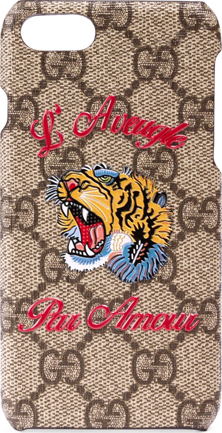 Gucci L'Aveugle Par Amour GG Tiger iPhone 7 Case