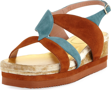 Dries Van Noten Flatform Wedge Platform Sandal