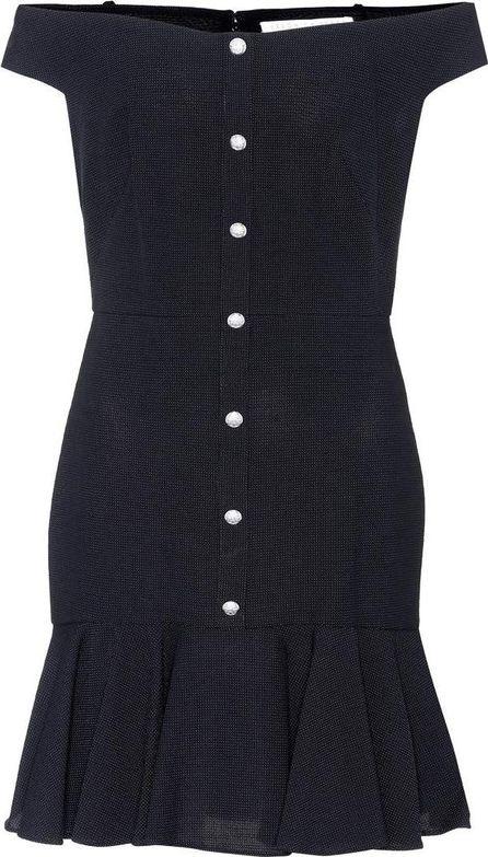 Veronica Beard Winnie off-the-shoulder dress