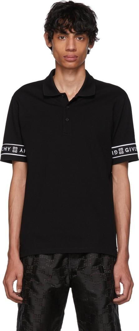 Givenchy Black 4G Band Polo