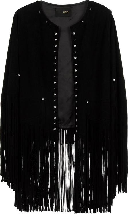 Andrea Bogosian Embellished tassel cape