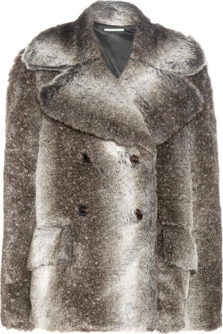 Alessandra Rich - Faux fur coat