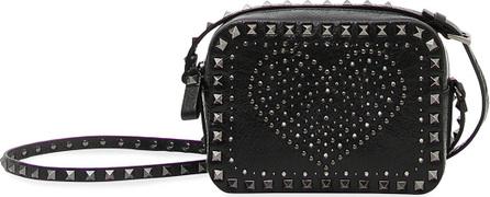 Valentino Rockstud Heart Crossbody Bag