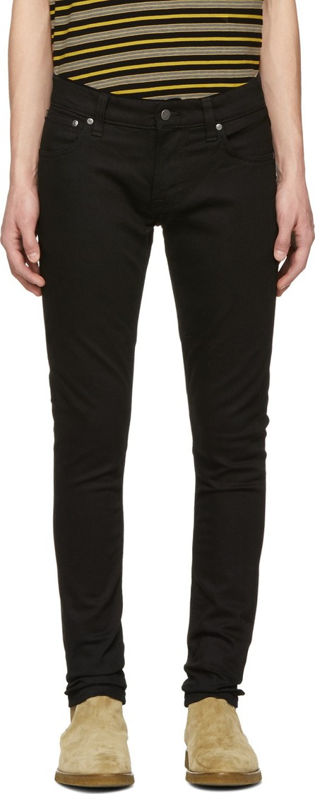 FRAME DENIM Black Jagger True Skinny Jeans