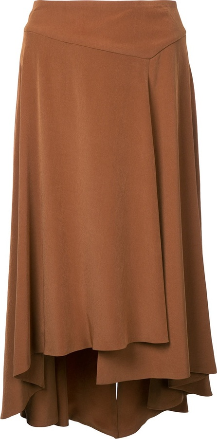 Estnation pleated skirt