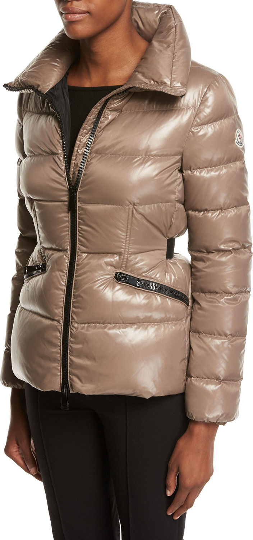 14989dd5b top quality moncler hermine grosgrain trim down coat of arm db97e f4f58