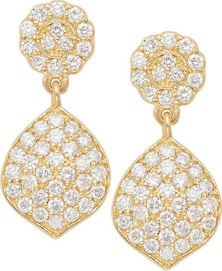 Jamie Wolf Tiny Pave Acorn Earrings with Diamonds