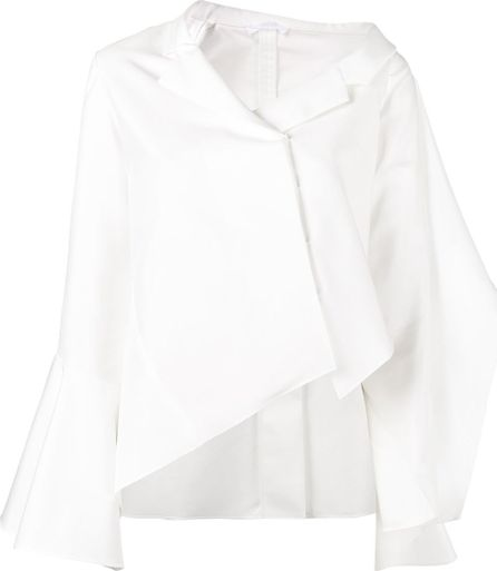 ADEAM off-shoulder asymmetric shirt