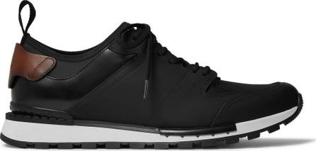 Berluti Run Track Leather and Neoprene Sneakers