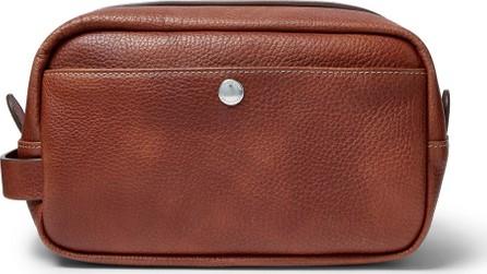 Brunello Cucinelli Full-Grain Leather Wash Bag