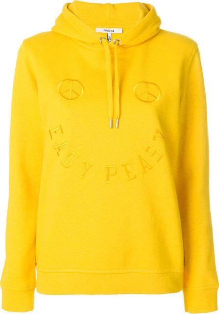 Ganni Easy Peasy hoodie