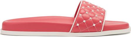 Valentino Free Rockstud leather slides