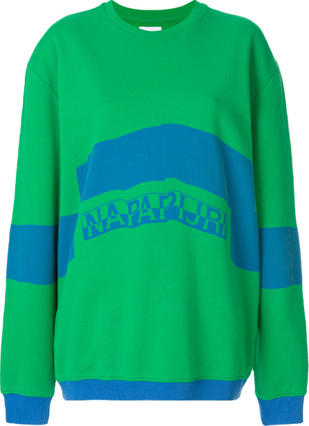 NAPA by Martine Rose Stripe detail jumper