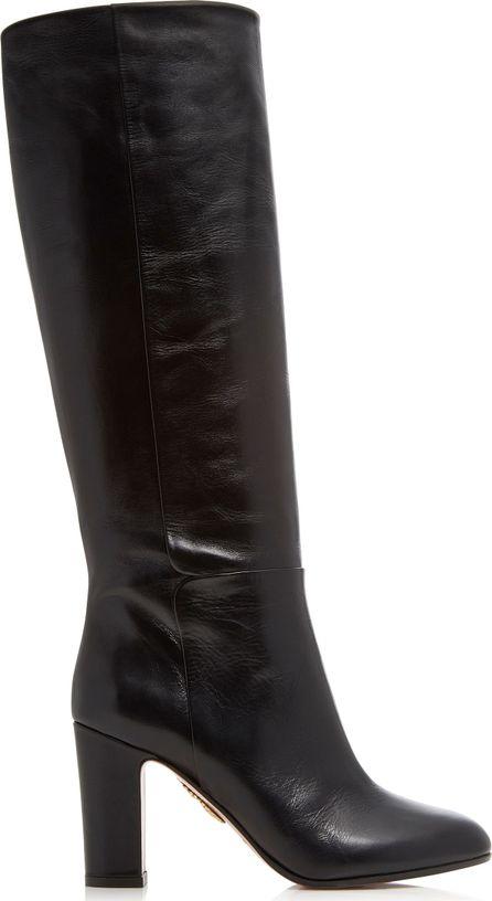 Aquazzura Brera Leather Boots