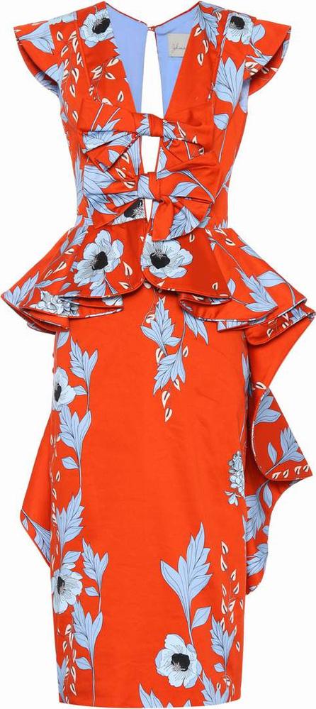 Johanna Ortiz Kalahari floral-printed cotton dress