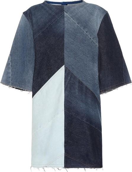 Acne Studios Dylane patchwork denim dress