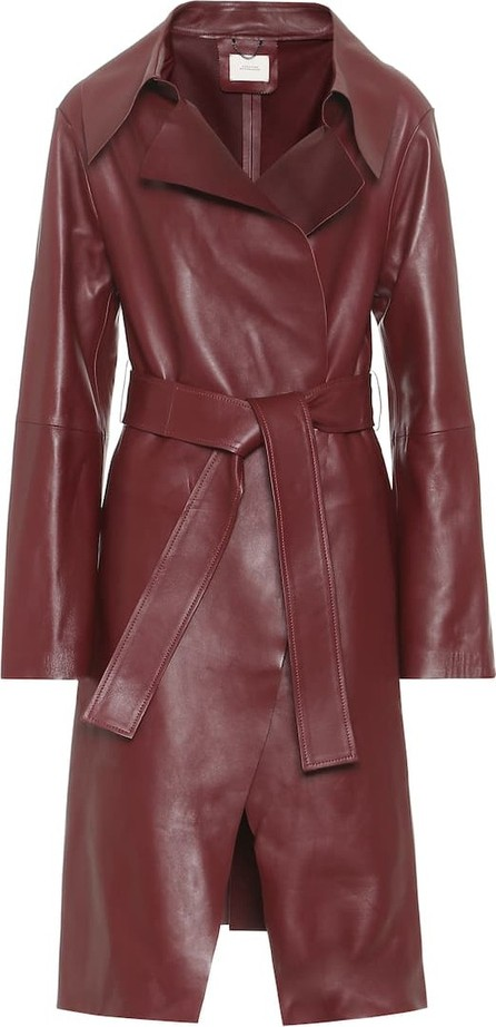 Dorothee Schumacher Exclusive to Mytheresa – Modern Volumes leather coat