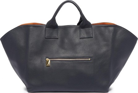 A-Esque 'Garden' large reversible leather tote