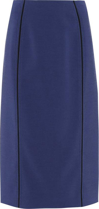 Fendi Piped pencil skirt