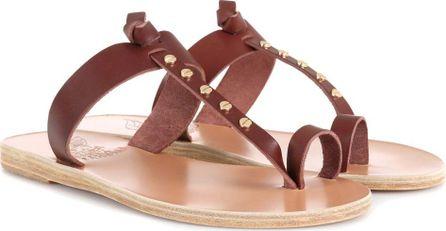Ancient Greek Sandals Melpomeni Nails leather sandals