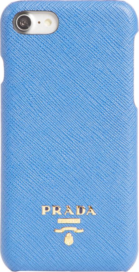 Prada Saffiano Metal Oro iPhone 7 Case