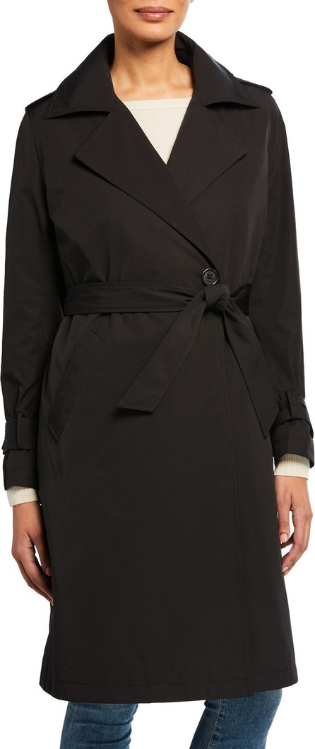 Jane Post Minimalist Trench Coat w/ Detachable Liner